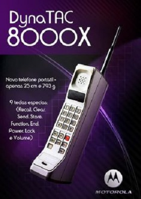 A mobiltelefonok evolúciója: 1970-2010